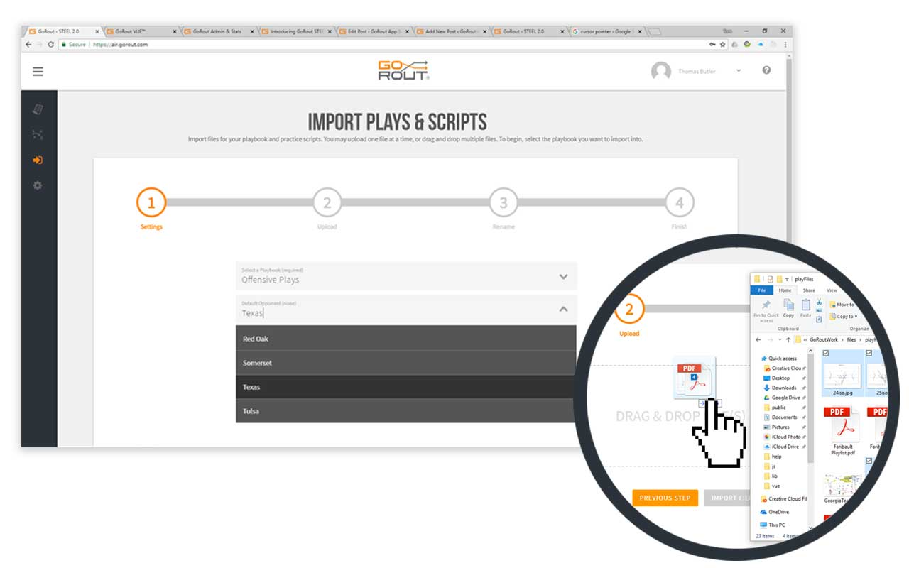 Simplified Importing Process